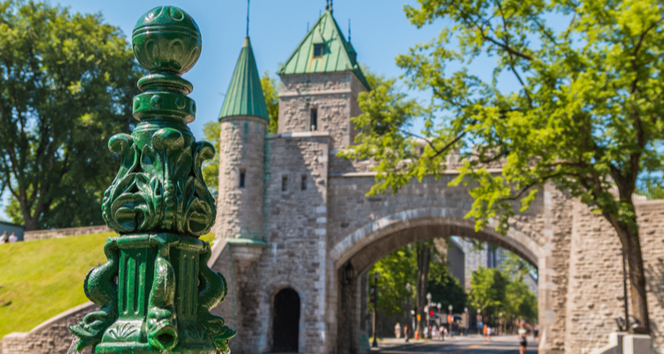 old quebec fortification