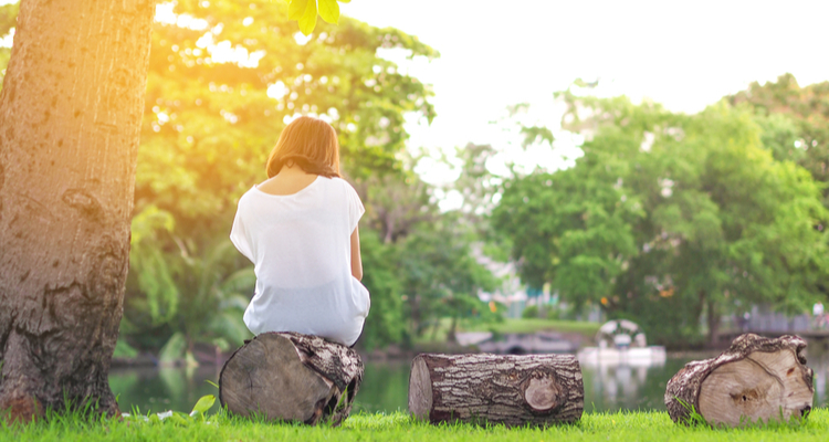 """""""If you can be outside, get sunshine or a breeze on your face, be in nature, it helps you remember there is a beautiful world out there,"""" one expert suggested."""
